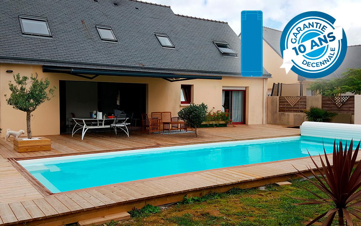 Prix D Un Couloir De Nage piscine menton 110 - kit low cost - piscine direct usine